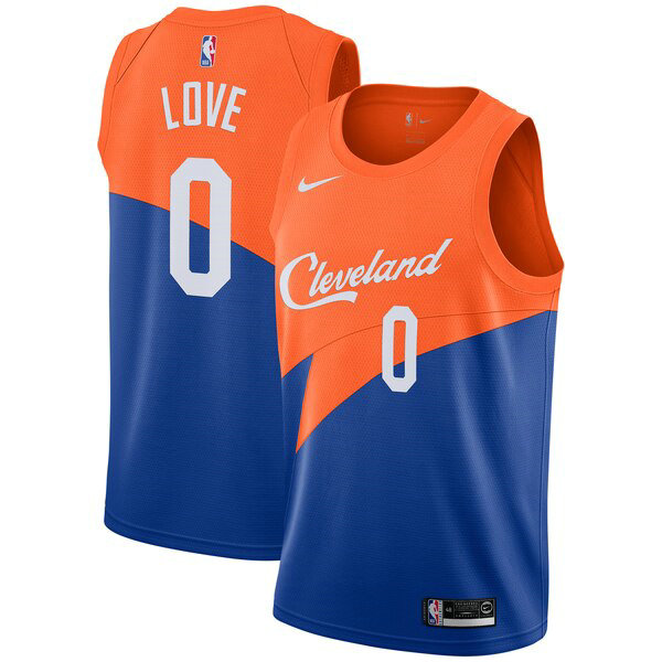 Maillot Cleveland Cavaliers 2019 Kevin Love 0 Homme Bleu