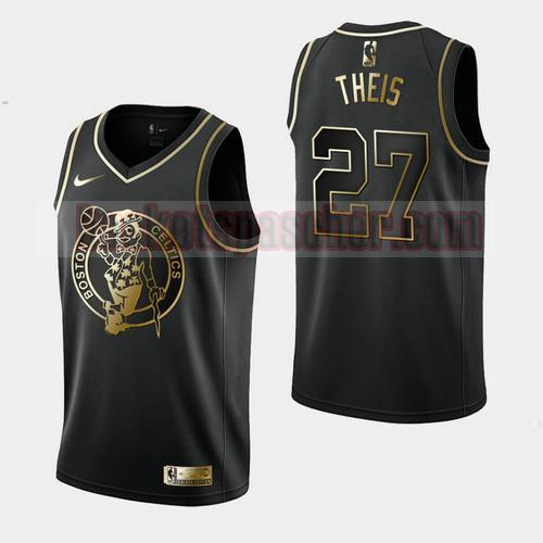 Maillot Boston Celtics Golden Edition Daniel Theis 27 Homme Noir
