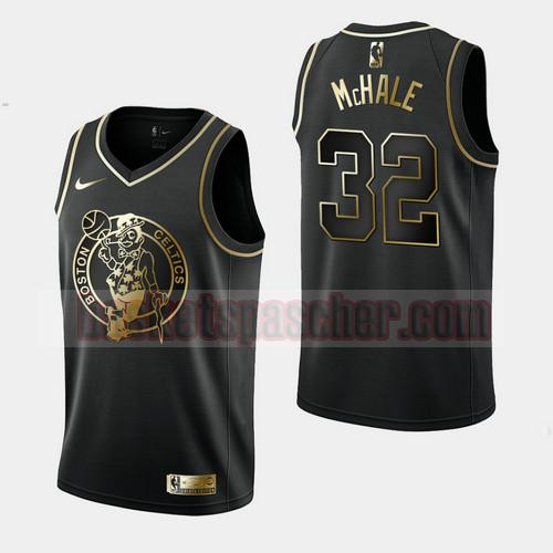 Maillot Boston Celtics Golden Edition Kevin McHale 32 Homme Noir
