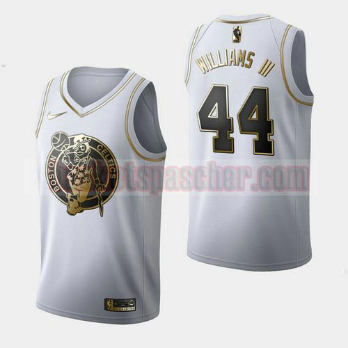 Maillot Boston Celtics Golden Edition Robert Williams III 44 Homme Blanc