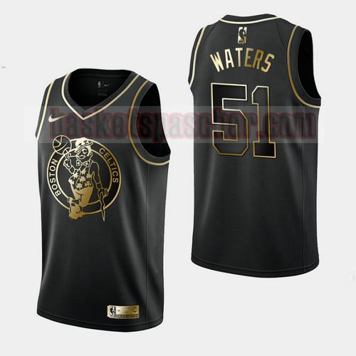 Maillot Boston Celtics Golden Edition Tremont Waters 51 Homme Noir