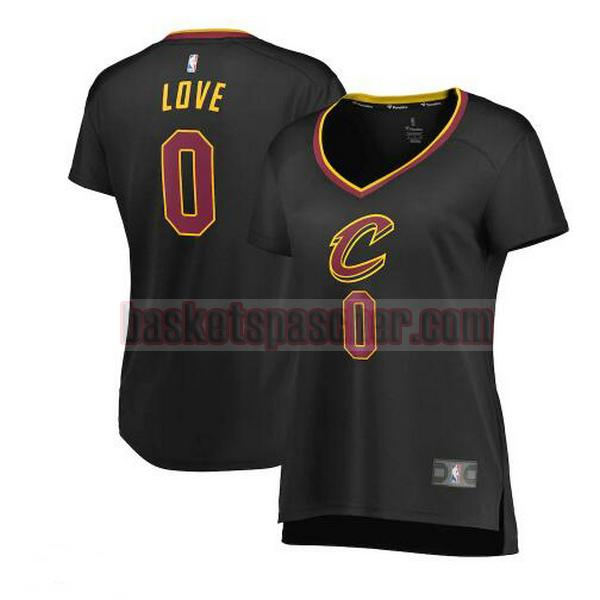 Maillot Cleveland Cavaliers statement edition Kevin Love 0 Femme Noir