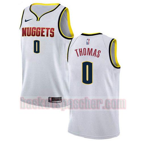 Maillot Denver Nuggets 2018-2019 Isaiah_Thomas 0 Homme blanc