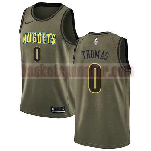 Maillot Denver Nuggets nike Isaiah_Thomas 0 Homme vert