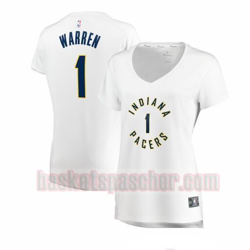 Maillot Indiana Pacers association edition TJ Warren 1 Femme Blanc
