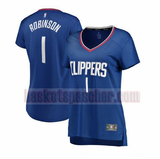 Maillot Los Angeles Clippers icon edition Jerome Robinson 1 Femme Bleu