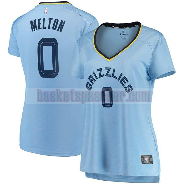 Maillot Memphis Grizzlies statement edition De'Anthony Melton 0 Femme Bleu