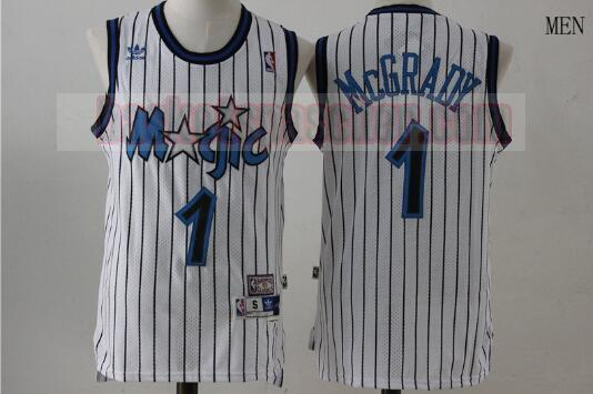 Maillot Orlando Magic Basketball Tracy McGrday 1 Homme Blanc