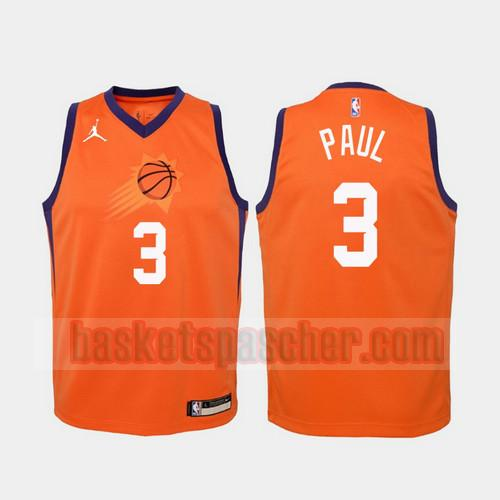 Maillot Phoenix Suns 2020-21 Statement Chris Paul 3 Homme Orange