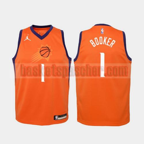 Maillot Phoenix Suns 2020-21 Statement Devin Booker Jersey 1 Homme Orange