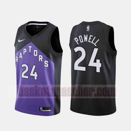 Maillot Toronto Raptors 2020-21 Earned Edition Norman Powell 24 Homme morado