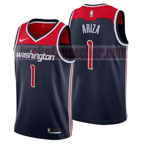 Maillot Washington Wizards 2018-2019 Trevor Ariza 1 Homme Bleu