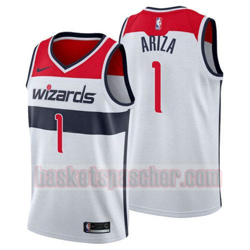 Maillot Washington Wizards 2018-2019 Trevor Ariza 1 Homme White