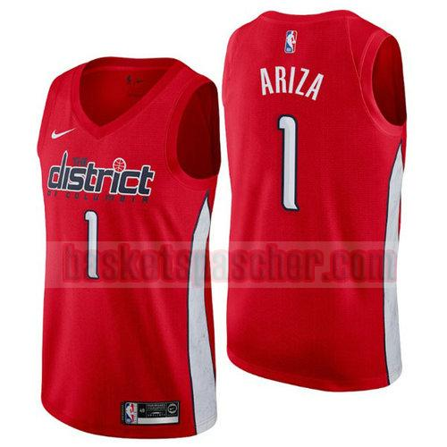 Maillot Washington Wizards Earned 2019 Trevor Ariza 1 Homme Rouge