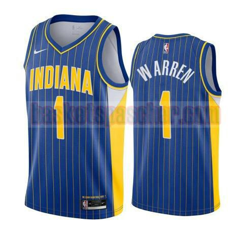 maillot Indiana Pacers 2020-21 City Edition Swingman T.J. Warren 1 homme bleu
