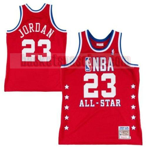 maillot all star 1989 DeAndre Jordan 23 homme rouge