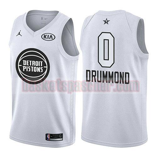 maillot all star 2018 Andre Drummond 0 homme blanc