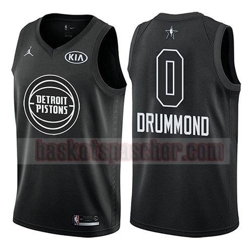 maillot all star 2018 Andre Drummond 0 homme noir
