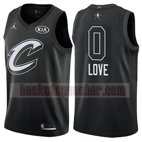 maillot all star 2018 Kevin Love 0 homme noir