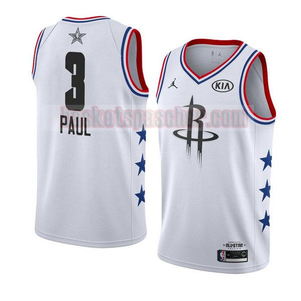 maillot all star 2019 Chris Paul 3 homme blanc