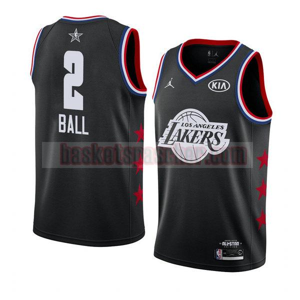 maillot all star 2019 Lonzo Ball 2 homme noir