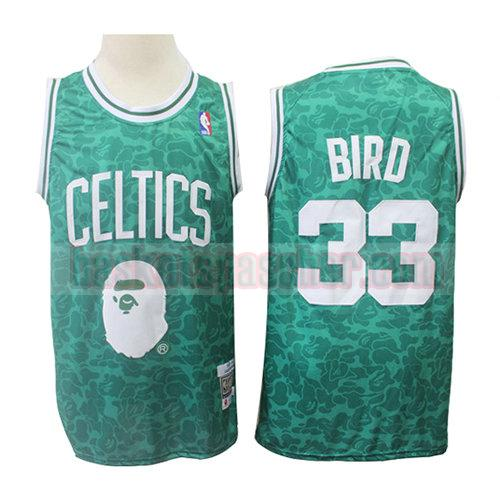 maillot boston celtics mitchell & ness Larry Bird 33 homme verde