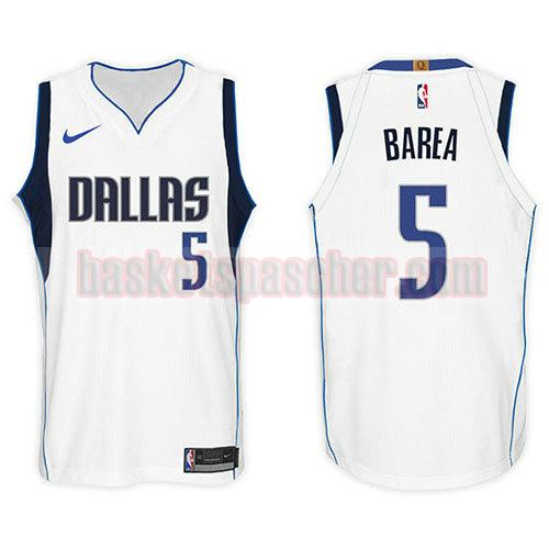 maillot dallas mavericks 2017-18 J.j. Barea 5 homme blanc