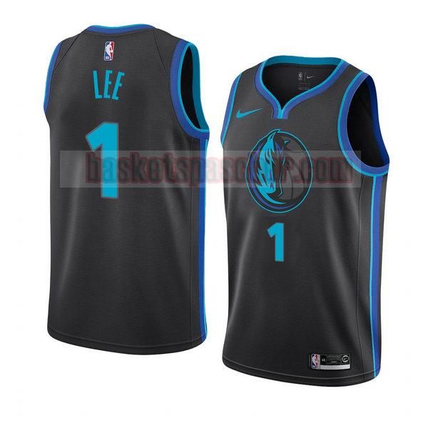 maillot dallas mavericks ville 2018-19 Courtney Lee 1 homme bleu