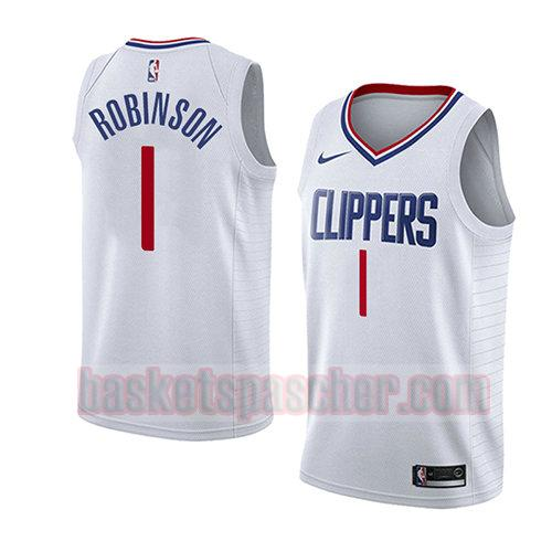 maillot los angeles clippers association 2018 Jerome Robinson 1 homme blanc