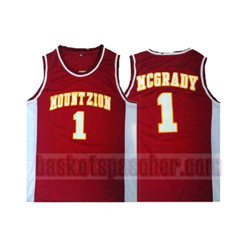 maillot mountzion Tracy McGrady 1 homme rouge