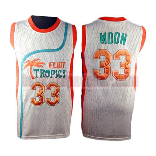 maillot pelicula flint tropscs Jackie Moon 33 homme blanc