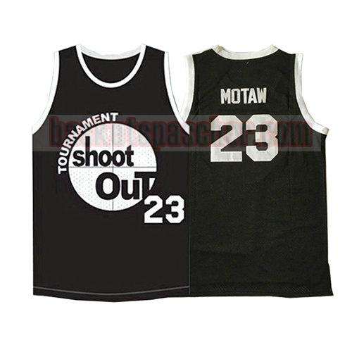 maillot pelicula shoot out Motaw 23 homme noir