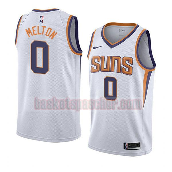 maillot phoenix suns association 2019 De'anthony Melton 0 homme blanc