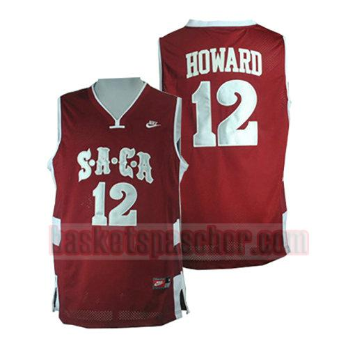 maillot saca Dwight Howard 12 homme rouge