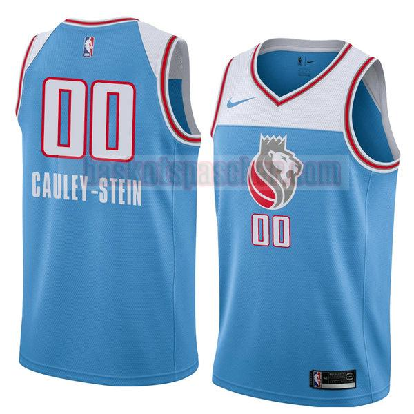maillot sacramento kings ville 2018 Willie Cauley-Stein 0 homme bleu