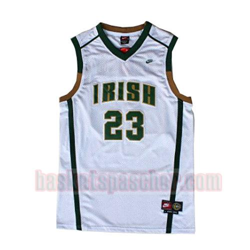 maillot st. vincent-st. mary LeBron James 23 homme blanc