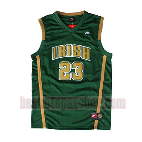 maillot st. vincent-st. mary LeBron James 23 homme verde