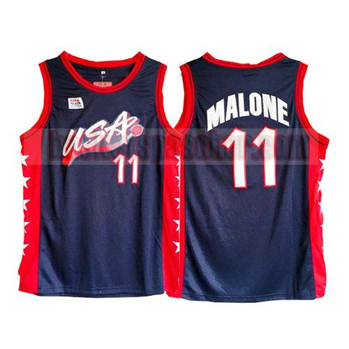 maillot usa 1996 Karl Malone 11 homme noir