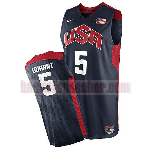 maillot usa 2012 Kevin Durant 5 homme noir