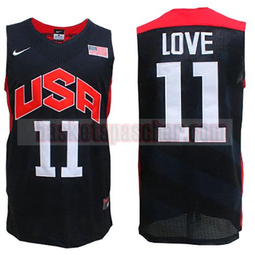 maillot usa 2012 Kevin Love 11 homme noir