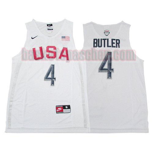 maillot usa 2016 Jimmy Butler 4 homme blanc