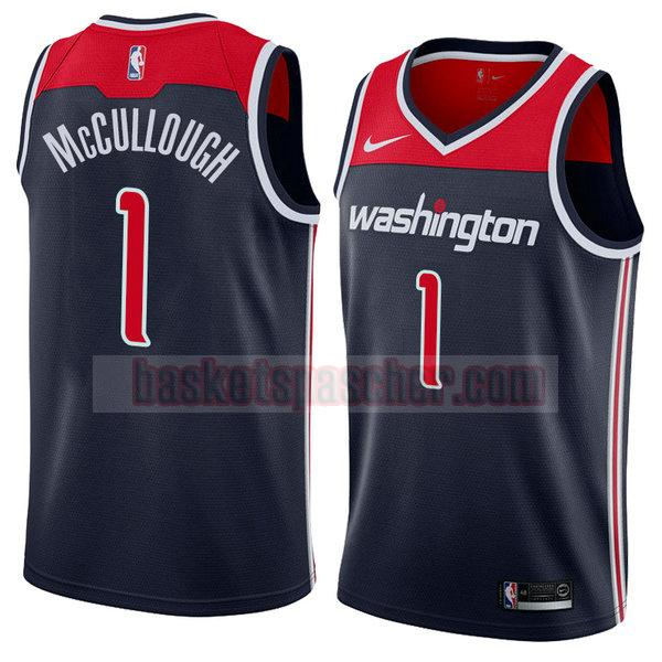 maillot washington wizards déclaration 2018 Chris McCullough 1 homme noir