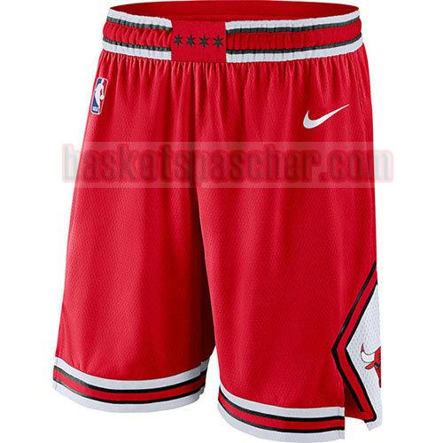 shorts chicago bulls 2017-18 homme rouge