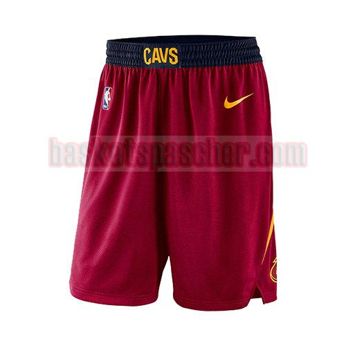 shorts cleveland cavaliers 2017-18 homme rouge