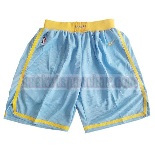 shorts los angeles lakers classic 2017-18 homme bleu