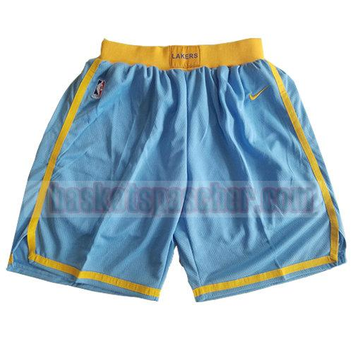 shorts los angeles lakers classic 2018 homme bleu
