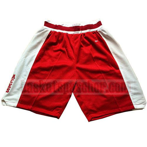 shorts lower merion homme rouge